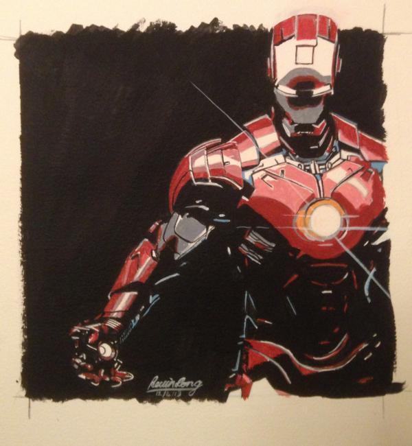 Iron Man by KLARTWORK
